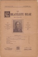 LE PHILATELISTE BELGE N° 120 - Belgique