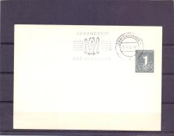 Deutsche Bundespost -  Gesunbdheid Aus Cuxhaven -  21/4/60  (RM12876) - Poissons