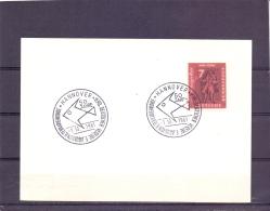 Deutsche Bundespost - 50 Jahre Verein  Aquarien Und Terrarienkunde -  Hannover 1/10/1961    (RM12881) - Poissons