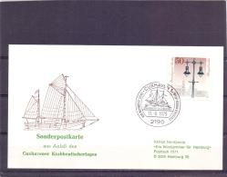 Deutsche Bundespost Berlin - Krabbenfischertag -  Cuxhaven 11/8/1979    (RM12984) - Crustacés