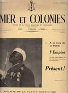 MER Et COLONIES N° Spécial Marine Juillet 1941 Gabon Brazza Patriotisme Loyalisme Colonial Pêche Trans Saharien - Revues & Journaux