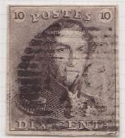 Belgie   .     OBP     .   1       .   Hamme  54    .        O   .          Gebruikt   .    /    .    Oblitéré - 1849 Epaulettes