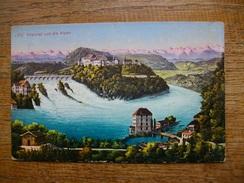 Suisse , Neuhausen , Rheinfall Und Die Alpen - SH Schaffhouse