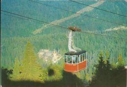 59820- SINAIA SKI RESORT, THE CABLE CAR, TRANSPORTS - Cartoline