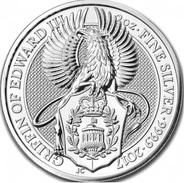 Grande-Bretagne, 5 Pounds 2017 - Argent Pur / Pure Silver UNC - 1971-… : Monnaies Décimales
