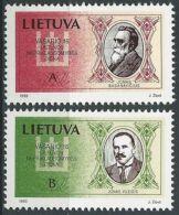 LITAUEN 1993 Mi-Nr. 516/17 ** MNH - Lituanie