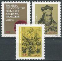 LITAUEN 1993 Mi-Nr. 518/20 ** MNH - Lituanie