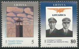 LITAUEN 1993 Mi-Nr. 529/30 ** MNH - Lituanie