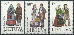 LITAUEN 1993 Mi-Nr. 537/39 ** MNH - Lithuania
