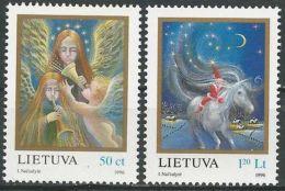 LITAUEN 1996 Mi-Nr. 625/26 ** MNH - Lithuania