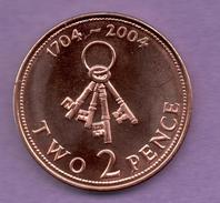 GIBRALTAR - 2 PENCE 2004 - Géorgie