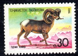 R1780 - TAGIKISTAN 1993 ,  Unificato Serie N. 4  ***  MUFLONE - Tagikistan