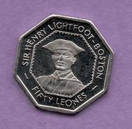 SIERRA LEONE - 50 LEONES - Sierra Leona