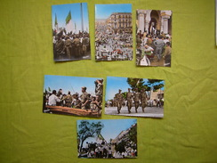 Lot De 6 CPA Fêtes De L'indépendance à Alger - Eventi