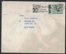 XA126     Belgique Bruxelles 1965 Timbre « L'âge De Rubens » Sur Lettre à Berlin - Postmark Collection