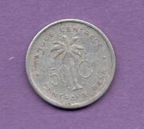 CONGO BELGA - 50 Centimes 1955 - 1951-1960: Baudouin I