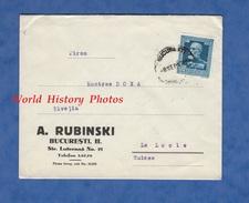 Enveloppe Ancienne De 1939 - BUCURESTI / BUCAREST - Maison A. RUBINSKI - Str. Luterana N° 21 - Romania Roumanie - 1918-1948 Ferdinand I., Charles II & Michel