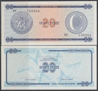 1985-BK-108 CUBA EXCHANGE CURRENCY 1985 20$ . C. UNC. - Cuba