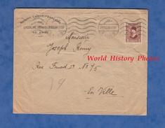 Enveloppe De 1928 - LE CAIRE - Lycée De Jeunes Filles - Mission Laïque Française - Égypte