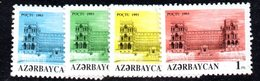 R1793 - AZERBAIJAN 1993 ,  Unificato N. 111/114  ***  ORDINARIA - Azerbaijan