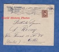 Enveloppe De 1929 - LE CAIRE - Mission Laïque Française - Ecole De Jeunes Filles - Egitto