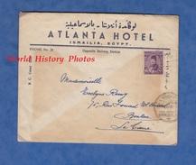 Enveloppe De 1941 ? - ISMAILIA , Egypt - Atlanta Hotel - Opposite Railway Station - Egypt
