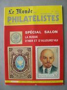 REVUE LE MONDE DES PHILATELISTES N° 391 De Novembre 1985 - Français (àpd. 1941)