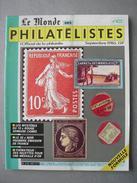 REVUE LE MONDE DES PHILATELISTES N° 400 De Septembre 1986 - Français (àpd. 1941)