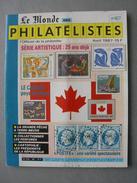 REVUE LE MONDE DES PHILATELISTES N° 407 De Avril 1987 - Français (àpd. 1941)