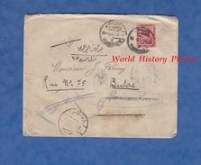 Enveloppe De 1921 - EGYPTE / EGYPT - Nombreux Cachets Au Verso ( Cairo , Tamiya , ... ) - J. Planta & Co , ALEXANDRIA - - Egypt