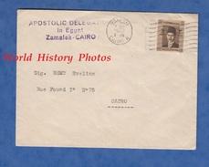 Enveloppe De 1942 - ZAMALET , Cairo - Apostolic Delegation In Egypt - Le Caire - Egitto