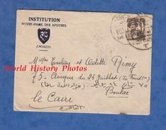 Enveloppe De 1957 - ZAGAZIG - Institution Notre Dame Des Apotres - Egypt / Egypte - Égypte
