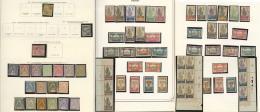 Collection. 1886-1933 (Poste, Taxe), Valeurs Moyennes Et Séries Complètes, + Nombreux Doubles Obl Constitu