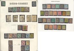 Collection. 1890-1893 (Poste, Taxe), Valeurs Et Séries Moyennes, Des Ex * Et Qqs Doubles. - TB, B Ou Pd