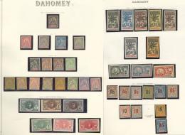 Collection. 1899-1964 (Poste, PA, Taxe), Des Valeurs Moyennes Et Séries Complètes Dont Palmiers, Des Doubl