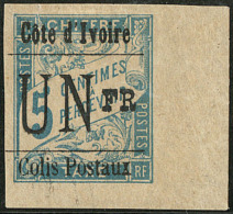 Colis Postaux. Type IX. No 7h Cdf, Importante Déchirure Mais Superbe D'aspect. - R (tirage 9)