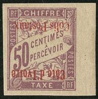Colis Postaux. Surcharge Renversée. No 3a, Bdf, Très Frais. - TB