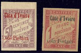 Colis Postaux. Nos 3 Bdf, 4. - TB