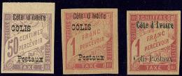 Colis Postaux. Nos 1 Bdf, 2, 4. - TB