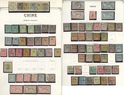 Collection. 1894-1922 (Poste, Taxe), Valeurs Et Séries Moyennes, Très Nombreux Doubles Obl. - TB Ou B