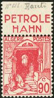 """Non émis. No 137Aa, Bdf Avec Pub """"Pétrole Hahn"""", Très Frais. - TB. - R"""