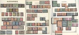 Collection. 1899-1930 (Poste, Taxe, Mill.), Valeurs Moyennes Et Séries Complètes Dont Doubles Et Multiples