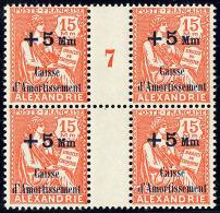 No 81, Bloc De Quatre Mill. 7, Bdf. - TB (cote Maury)