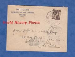 Enveloppe De 1956 - ZAGAZIG - Institution Notre Dame Des Apotres - Egypt / Egypte - Egypt