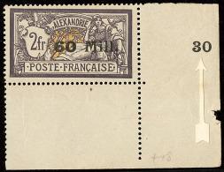 """Type II. No 48a, Cdf Avec Surcharge """"30"""" (du N°47) En Marge. - TB. - R"""
