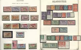 Collection. 1925-1929 (Poste, PA, Taxe), Valeurs Moyennes Et Séries Complètes, Nombreux Doubles Obl. - TB