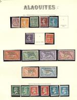 Collection. 1925-1929 (Poste, PA, Taxe), Valeurs Moyennes Et Séries Complètes, Qqs Ex Obl. - TB