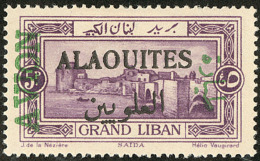 Poste Aérienne. Erreur. Sur Timbre Du Gd Liban. No 7a. - TB (tirage 300)