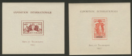 Exposition Paris 1937. La Série Des 24 Blocs. - TB