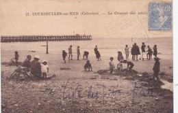 COURSEULLES SUR MER  LE CROQUET DES ENFANTS BELLE ANIMATION ACHAT IMMEDIAT - Courseulles-sur-Mer
